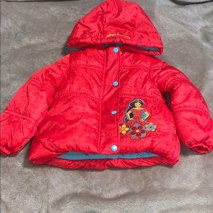 Disney princess coat 2T NWOT